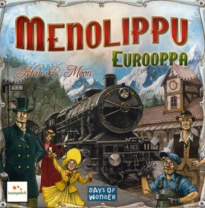 Menolippu – Ticket to Ride