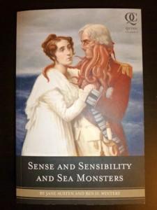 Kuva: Henna Teitto Sense and Sensibility and Seamonsters - kirjan kansi