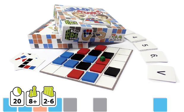 Villit kuviot. Kuva: Roll 6D games