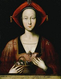 Isabella, Duchess of Lorraine By Ambito francese (Galleria degli Uffizi, Firenze.) [Public domain], via Wikimedia Commons