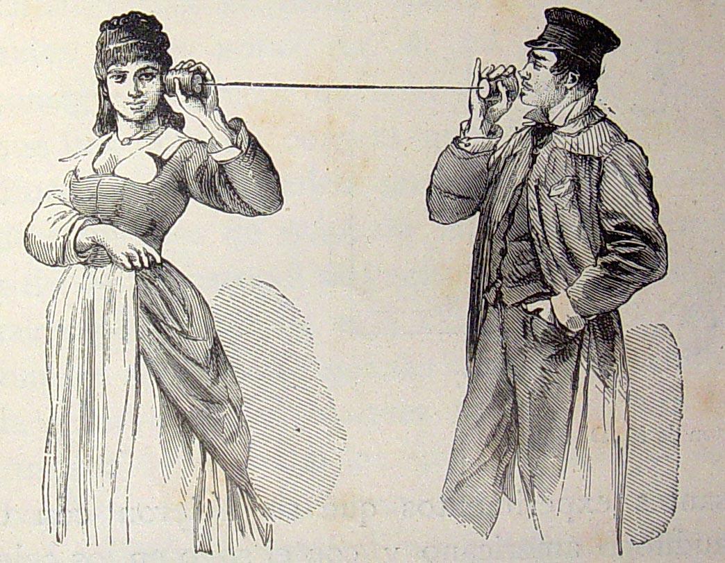 Tämä lankapuhelin oli aikoinaan kuuminta hottia. Kuva: Wikimedia Commons