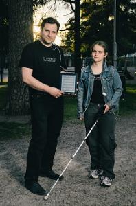 Esteettömyys mobiililaitteissa, haastattelussa BlindSquare-kehittäjä Ilkka Pirttimaa