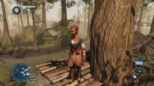 Orja seikkailee Louisianan vihreillä soilla.