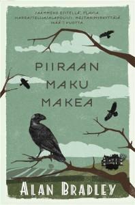Kirjan suomenkielisen version kansi on Satu Kontisen käsialaa.  Kuva Bazar Kustannus