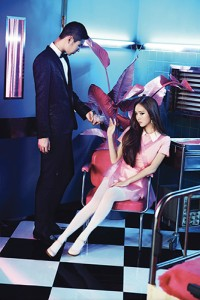 Jessica (SNSD) in a photo for the group's newest album, Mr.Mr. (photo by SM Entertainment)