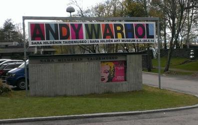 Sopasta taidetta – Andy Warhol -taidenäyttely