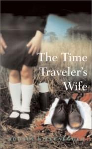 Audrey Niffeneggerin The Time Traveller's Wife -kirjan ensimmäisen painoksen kansikuva.