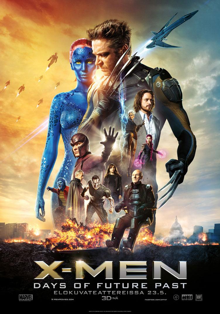 X-Men: Days of Future Past viihdyttää ja antaa ajattelun aihetta