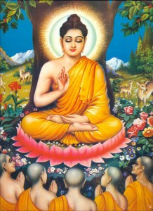 Buddha_discourse_under_tree