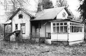 Vuorivirran huvila vuonna 1980. Arkkitehtuurin historian laboratorion arkisto.