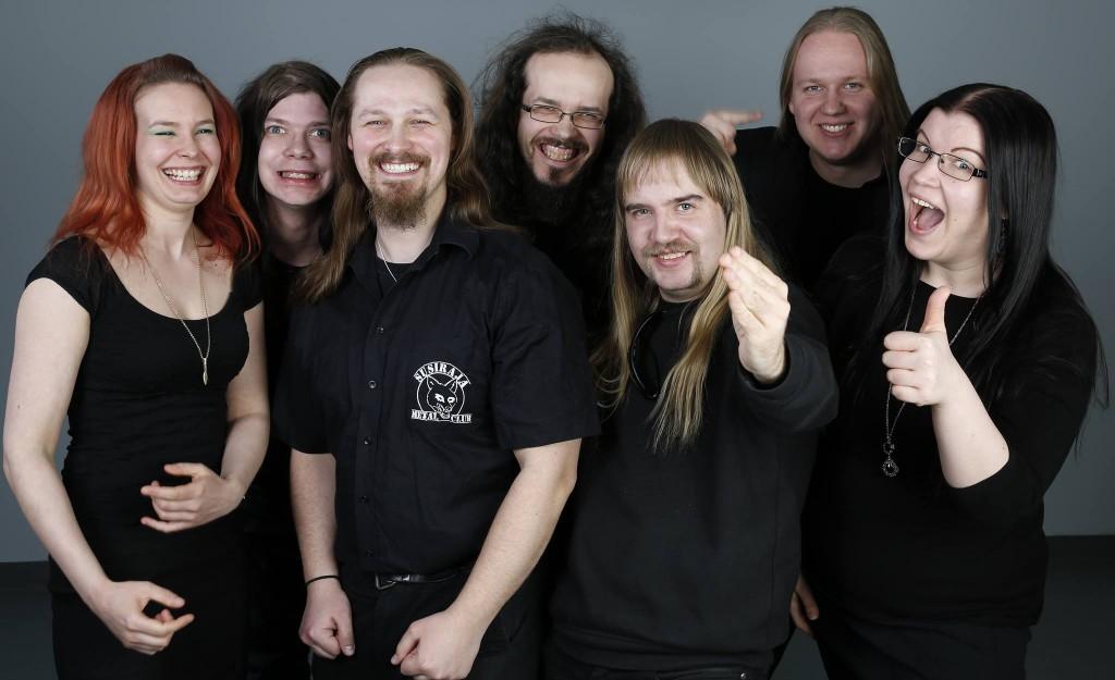 SMC:n hallitus vuonna 2014, kuvaaja Pasi Juvonen.