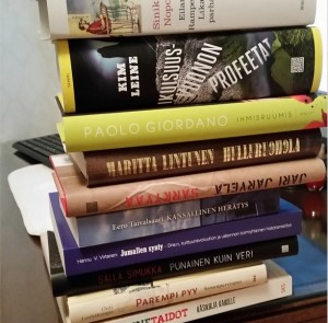 Kirjat on parasta huumetta