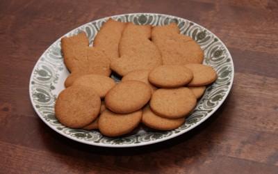 Joululeivontaa vilja-allergisille