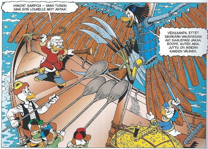 Sammon puolustus. © Disney