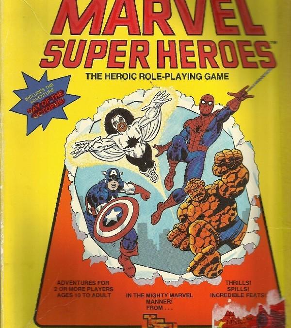 Marvel Super Heroes: Supersankareita 80-luvun tapaan
