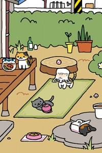 Neko atsume takapihan kissat