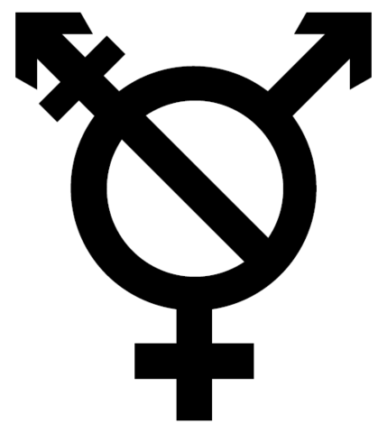 """""""Transgender symbol"""" by Rumpusparable - Own work based on File:Gendersign.svg. Licensed under CC BY-SA 3.0 via Wikimedia Commons."""