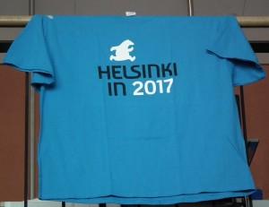 Worldcon Helsinki in 2017 -paita