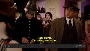 Jackin (oik.) ja Phrynen sanailu alkaa jo toisessa jaksossa.