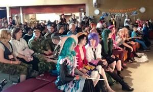 Kosucon - yleisöä