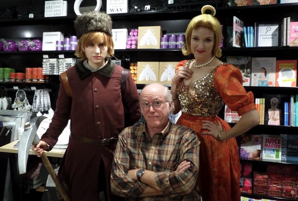 Joulukalenterin luukku 3: Don Rosan Suomen-vierailu