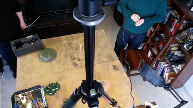 Joulukalenterin luukku 15: Figuvideoita tekemässä (ei valitettavasti sisällä videoita)