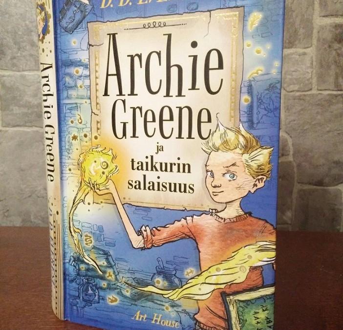 Archie Greene ja taikurin salaisuus – kevyttä fantasiaa alakouluikäisille