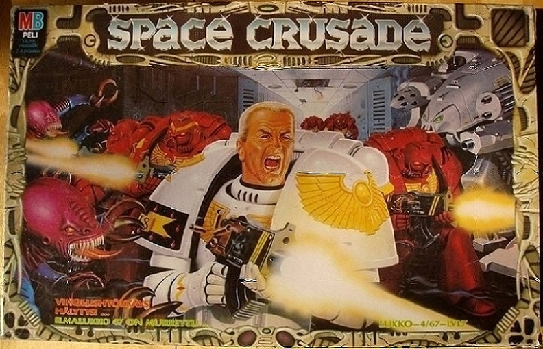 Space Crusade – klassikkolautapeli