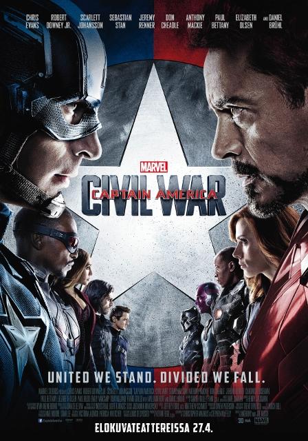 Nörttitytöt arvostelee: Captain America – Civil War
