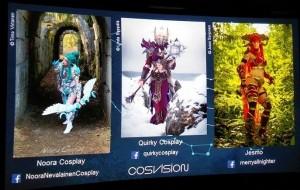 Cosplay screen