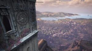 Ei korkeanpaikankammoisille, kiipeilyä korkealla.