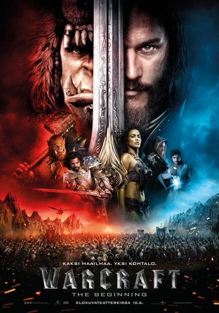 Pahuus on vihreää, hyvyys on sinistä – Warcraft: The Beginning