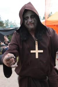 Saatanallinen munkki. Kuva: Reetta Järvenpää