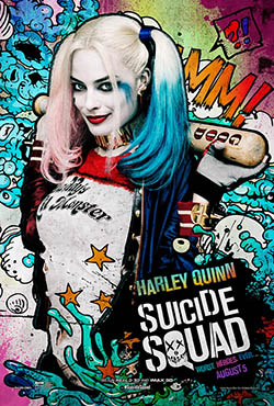 Suicide Squad ja Harley Quinnin pöksyt