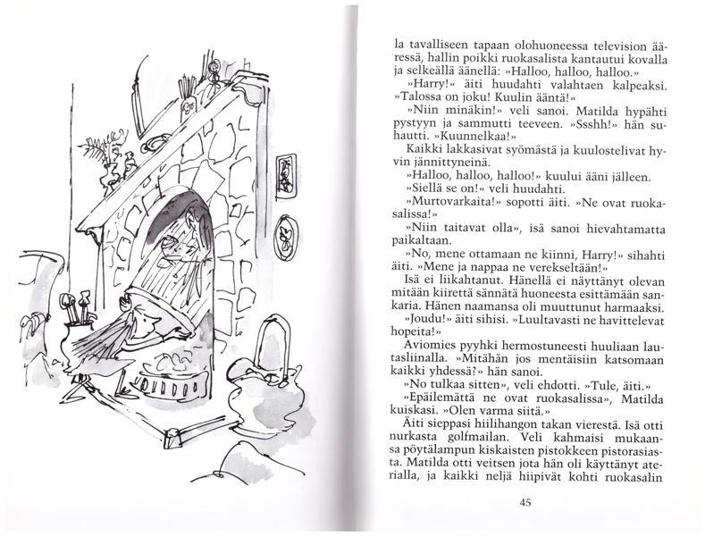 Syyskuussa juhlitaan Roald Dahlia