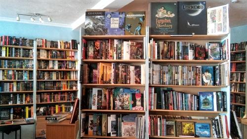 scifi-kirjakauppa