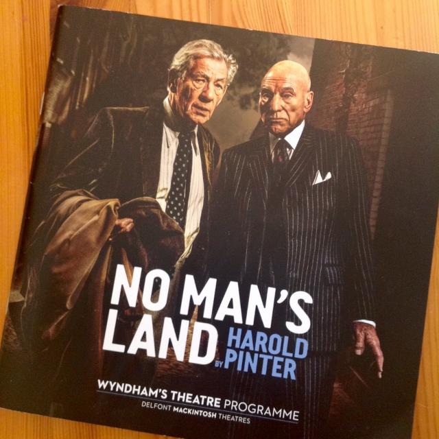 No Man's Land -näytelmä Lontoossa