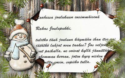 Nörttityttöjen joulutoiveet, osa 1: Kirje Joulupukille