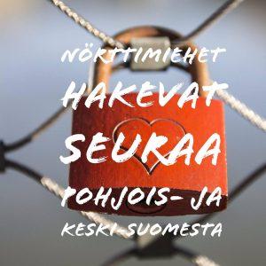 Nörttimiehet hakevat seuraa Pohjois- ja Keski-Suomesta