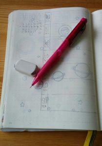 Bullet Journal suunnittelu