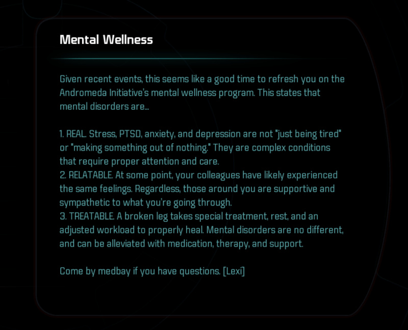 Mental Wellness -teksti