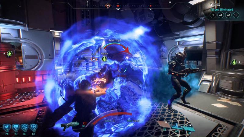 Kuva Multiplayer-matsista ja biotic combosta.
