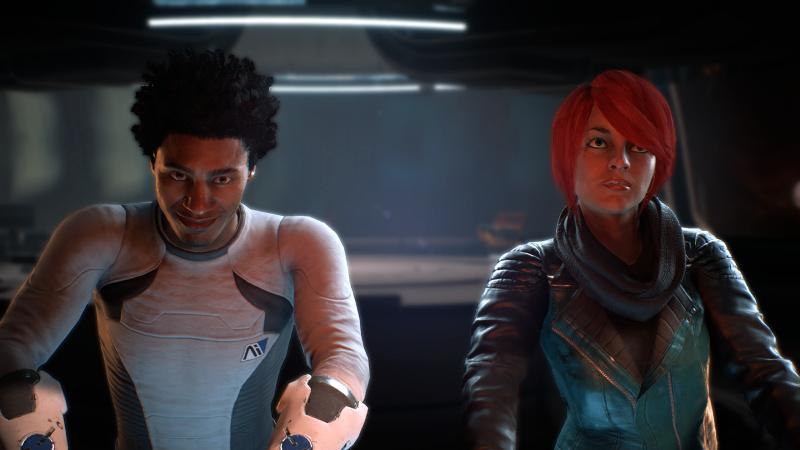 Ryder ja Liam kuvassa, Ryder yrittää olla nauramatta.
