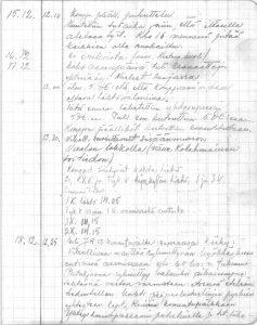 Jääkäripataljoona 3 sotapäiväkirja