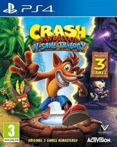 Arvostelu: Crash Bandicoot N. Sane Trilogy