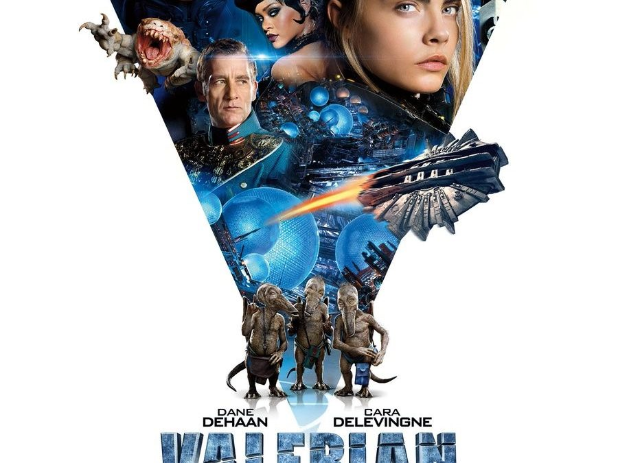 Arvostelu: Valerian and the City of a Thousand Planets