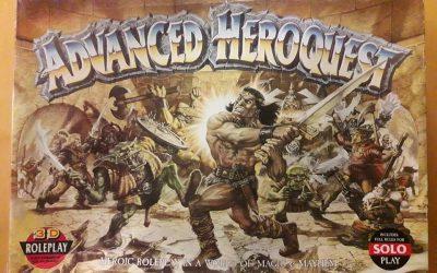 Advanced Heroquest – kadotettu klassikko?