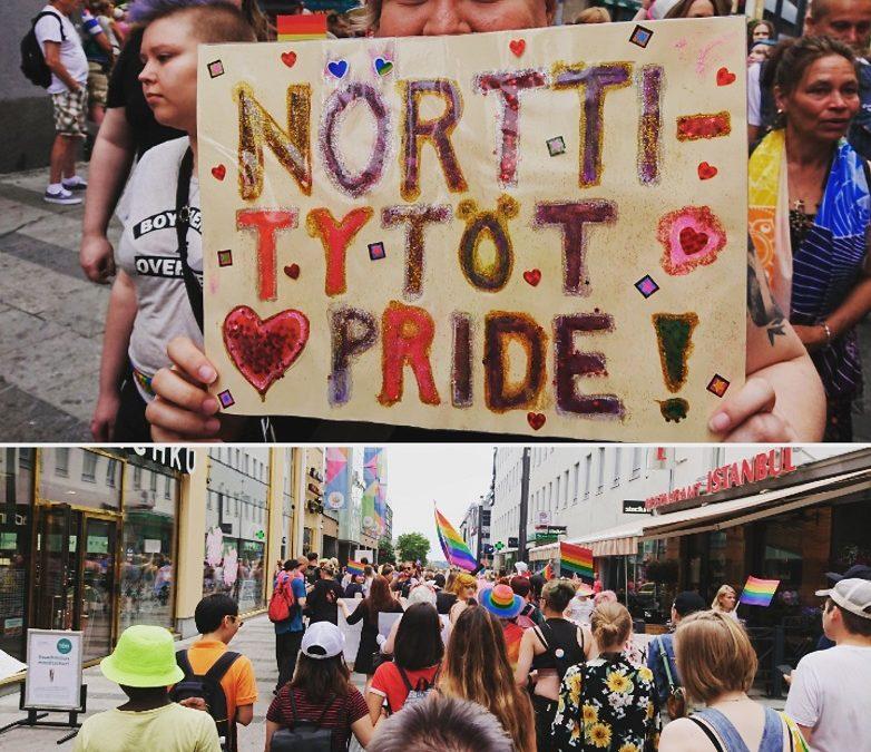 Natsit ei saa pannukakkua – Nörttitytöt Oulu Pridella