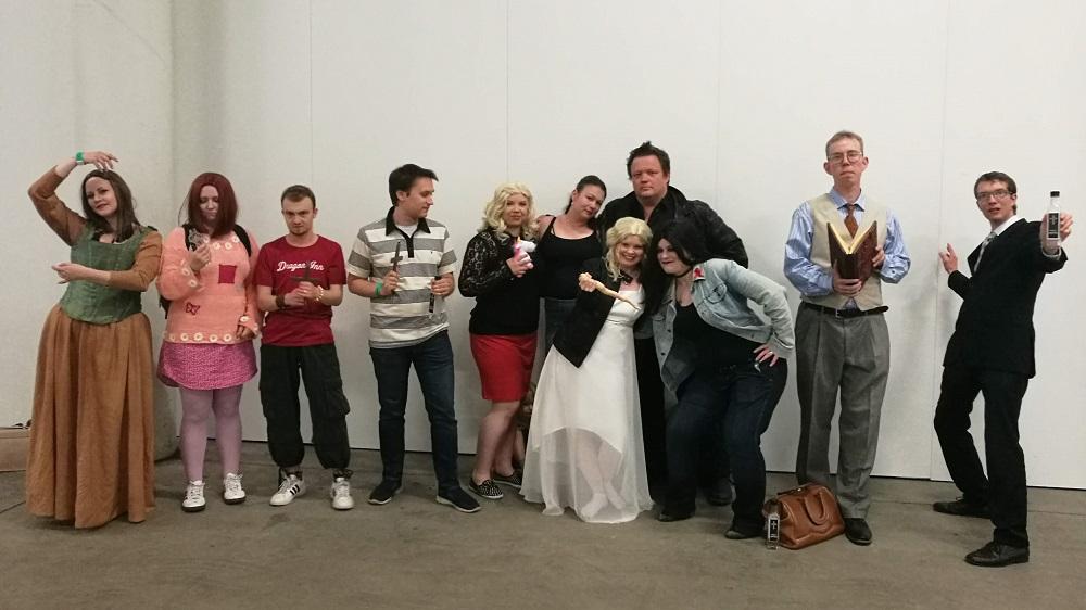 Buffy the Vampire Slayer -ryhmäcossi Ropeconissa