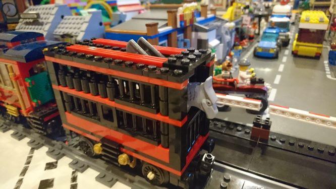 Matkalla Lego-näytteilleasettajaksi